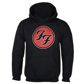 mikina pánska FOO FIGHTERS - RED CIRCULAR LOGO - BLACK - GOT TO HAVE IT, GOT TO HAVE IT, Foo Fighters