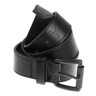 opasok URBAN CLASSICS - Marmorized PU Leather - black/black, URBAN CLASSICS