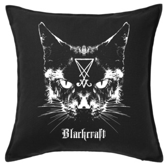vankúš BLACK CRAFT - Lucifer The Cat Throw, BLACK CRAFT