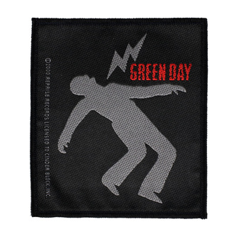 nášivka Green Day - Lightning Bolt - RAZAMATAZ, RAZAMATAZ, Green Day