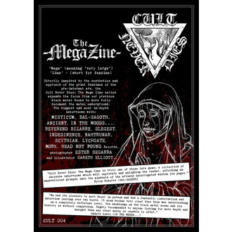 kniha Cult Never dies: The Mega zine (signed), CULT NEVER DIE