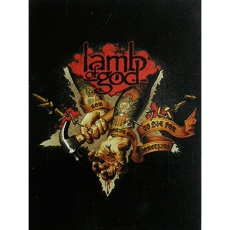 vlajka Lamb of God HFL 0894, HEART ROCK, Lamb of God