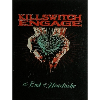 vlajka Killswitch Engage HFL 0896, HEART ROCK, Killswitch Engage