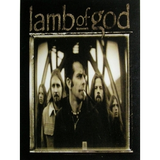 vlajka Lamb of God HFL 0902, HEART ROCK, Lamb of God
