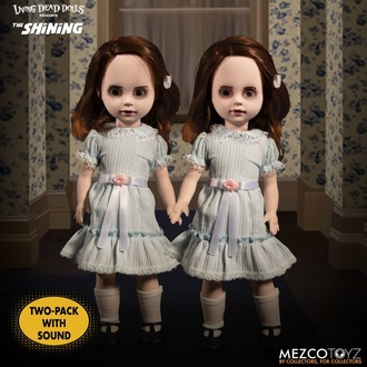 bábika (dekorácia) The Shining - Living Dead Dolls - Talking Grady Twins, LIVING DEAD DOLLS