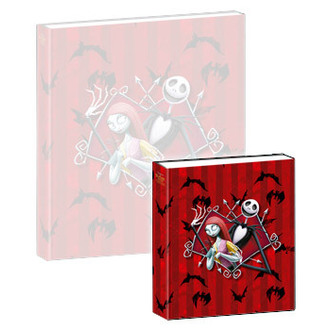 hrajúci notes Nightmare Before Christmas - Musical Notebook Jack & Sally - NBX27004
