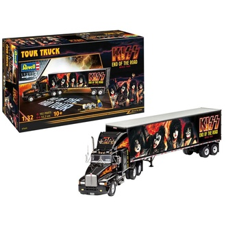 dekorácia (model) Kiss - Model Kit 1/32 Tour Truck, NNM, Kiss