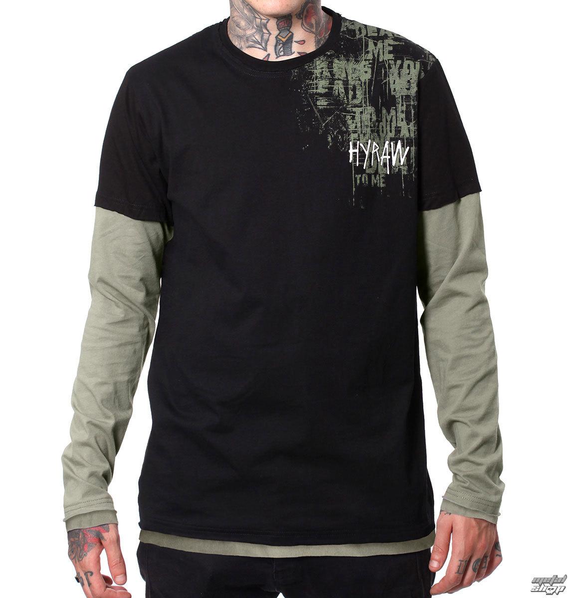 tričko pánske s dlhým rukávom HYRAW - LAND - HY280