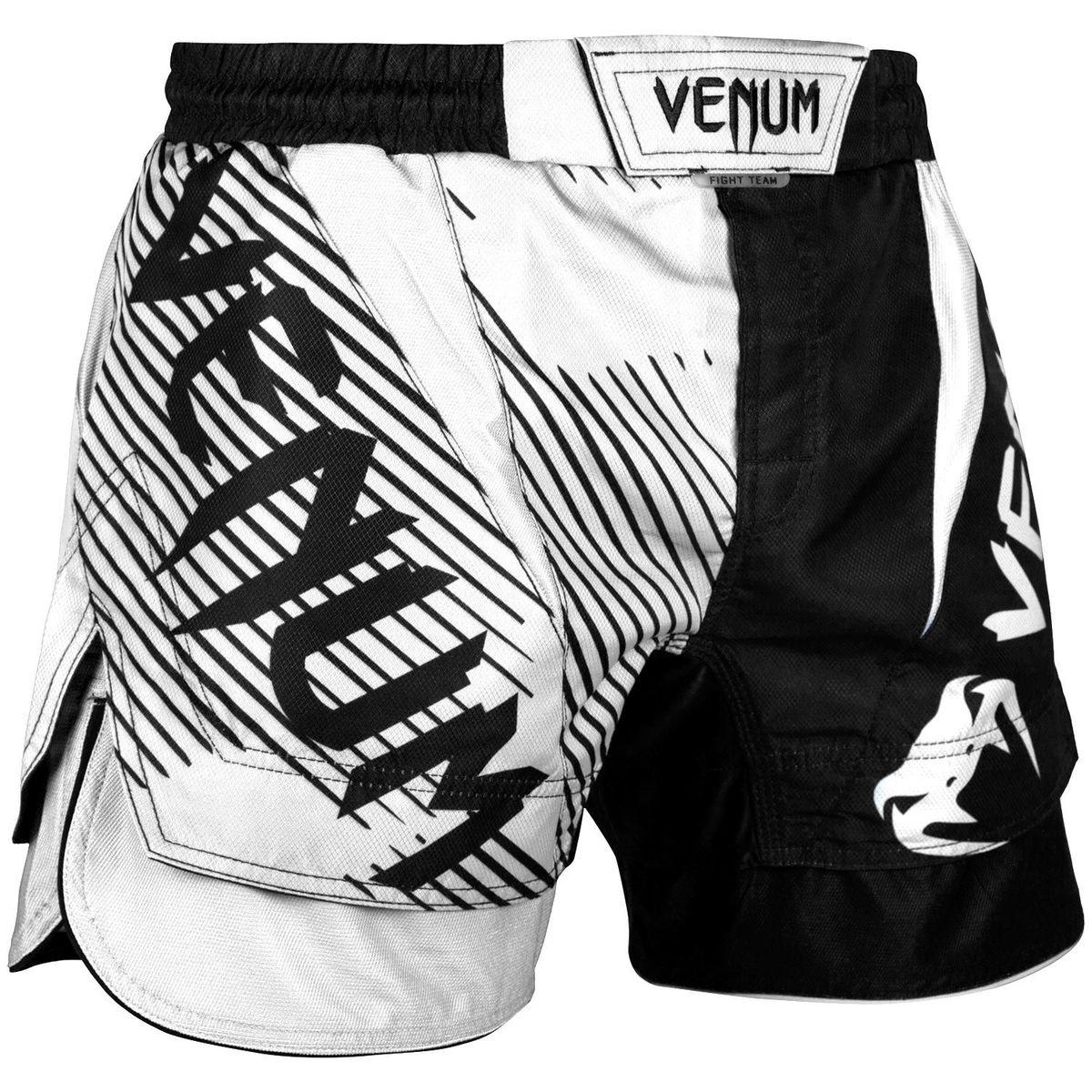 boxerské kraťasy pánske VENUM - NoGi 2,0 - Black/White - VENUM-03593-108