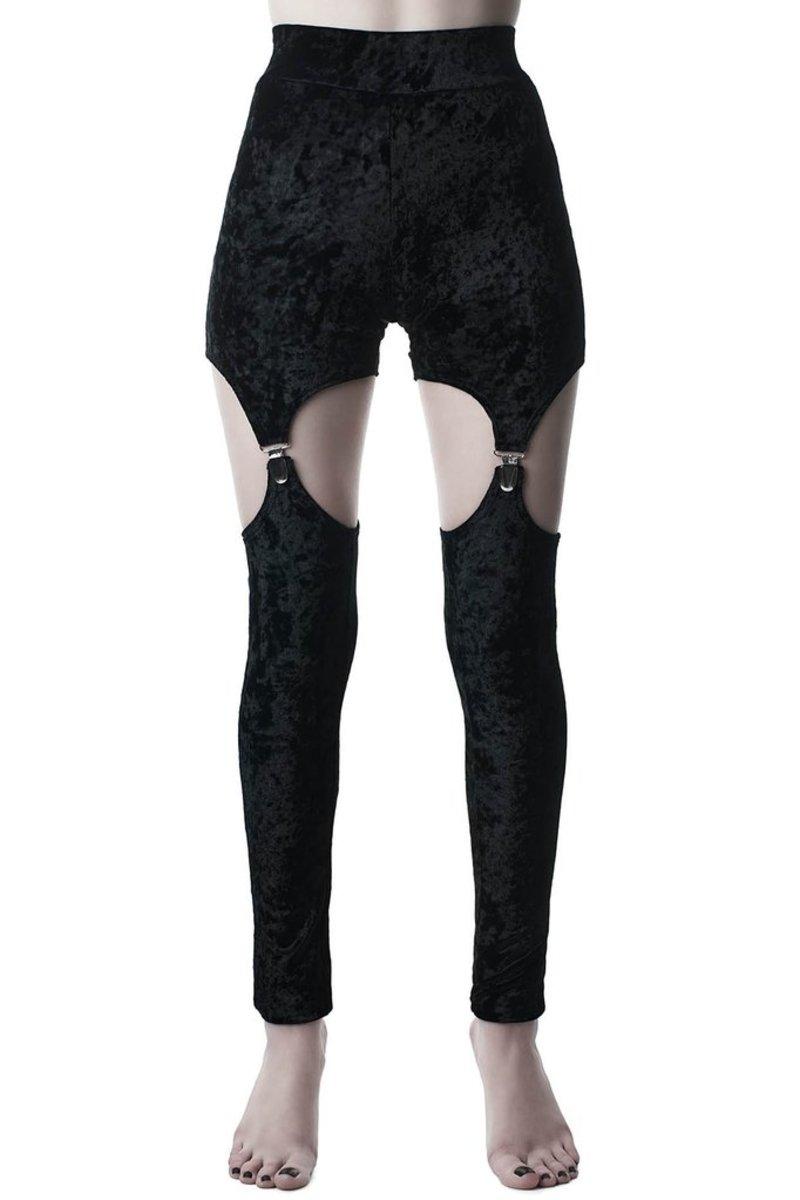 nohavice dámske (legíny) KILLSTAR - Nina - BLACK - KSRA000406
