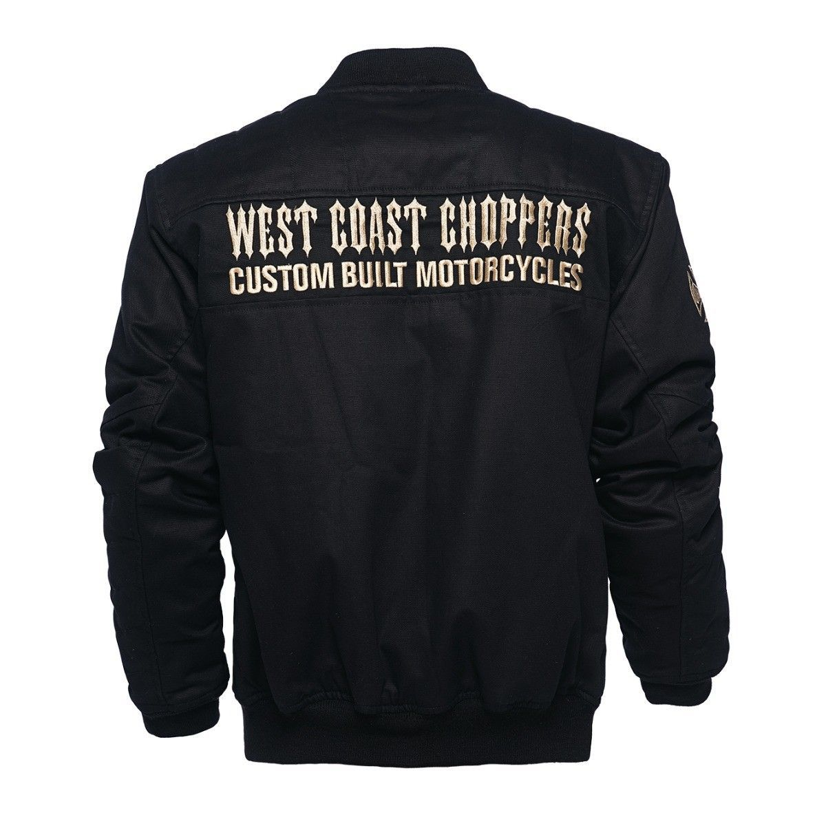 bunda pánska WEST COAST CHOPPERS - ASSUALT - BLACK - WCCJS028ZW