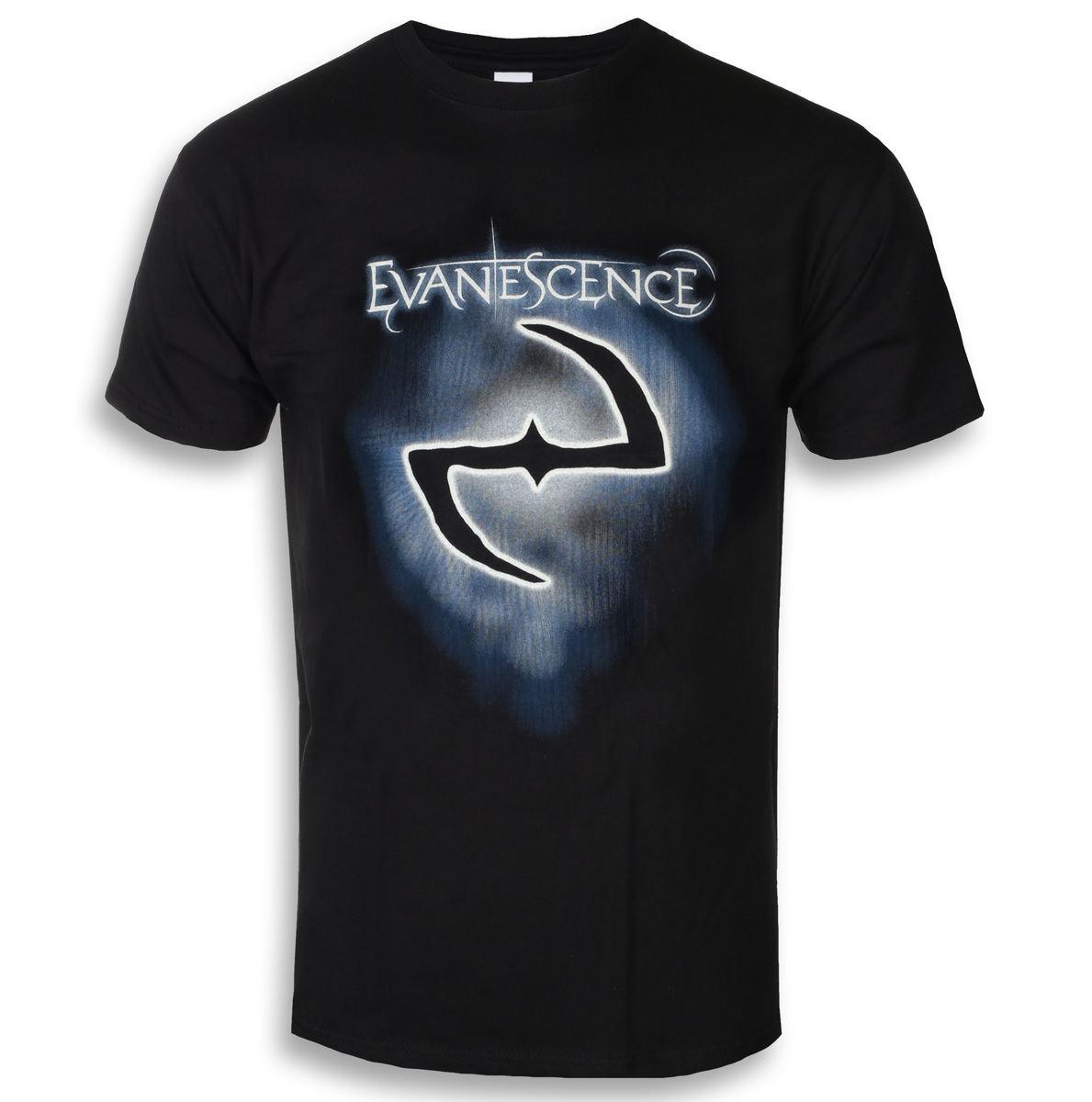 tričko pánske Evanescence - Classic Logo - ROCK OFF - EVATS03MB