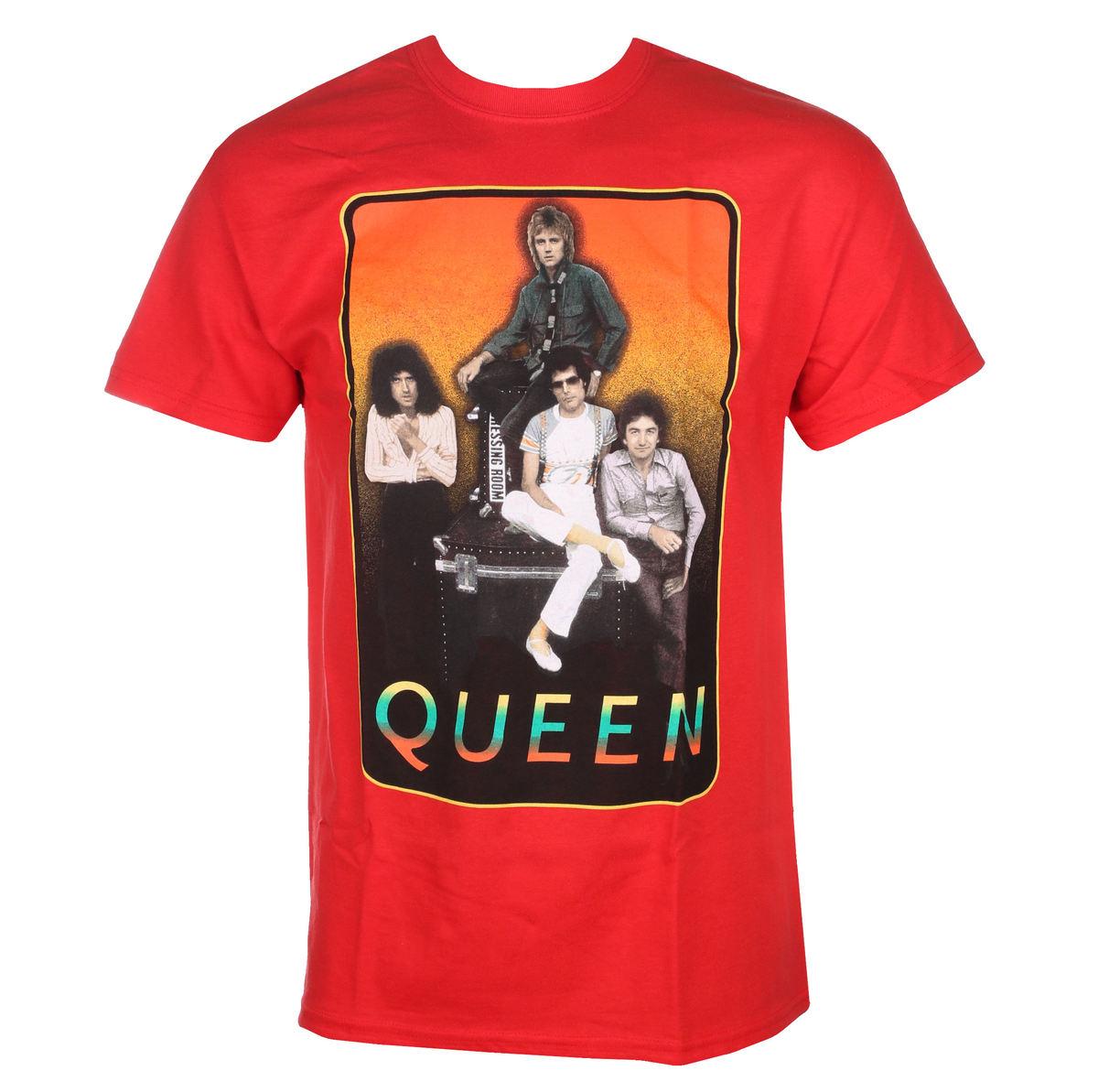tričko pánske QUEEN - RED FRAME - BRAVADO - 32771298