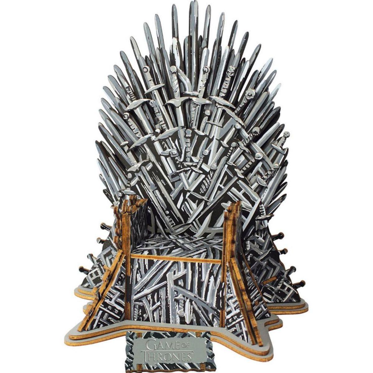 puzzle Game of Thrones (&&string1&&) - 3D Monument - Iron Throne - EDCA17207