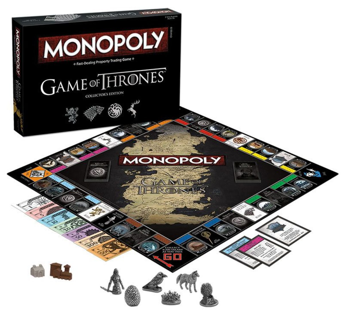 hračka NNM Game of thrones Monopoly Collectors Edition