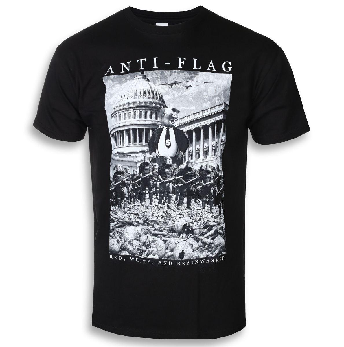 tričko pánske Anti Flag - Capital - Black - KINGS ROAD - 20102193